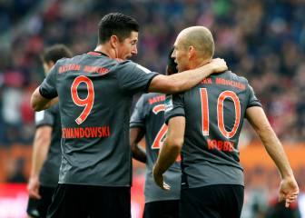 Lewandowski termina con su sequía y lanza al Bayern