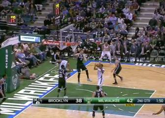 Los Nets caen en Milwaukee en el último segundo de partido
