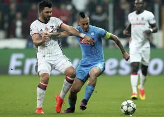 Hamsik rescata un punto para el Nápoles en Turquía