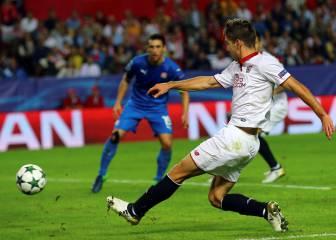 Desmarque, control, regate y gol: Vietto en estado puro
