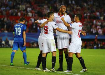 El Sevilla sacó la apisonadora y ya mira al primer puesto
