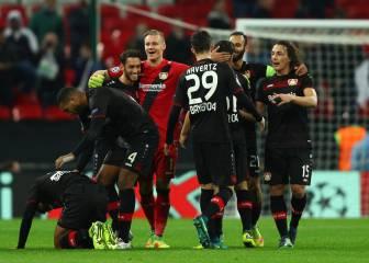 El Leverkusen saca tres puntos de oro en Wembley