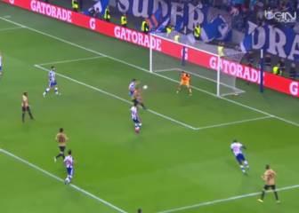 Casillas salva al Oporto con una mano milagrosa al final