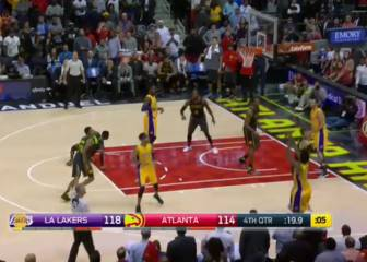 Resumen del Atlanta Hawks - Los Angeles Lakers