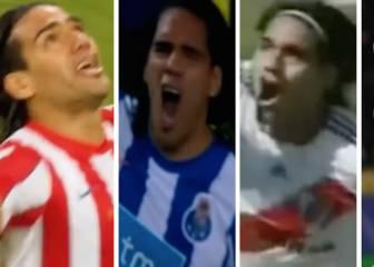 Los mejores goles que Falcao ha hecho en toda su carrera