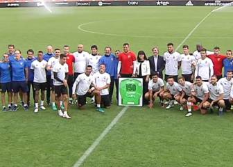 Homenaje a Diego Alves por sus 150 partidos como che