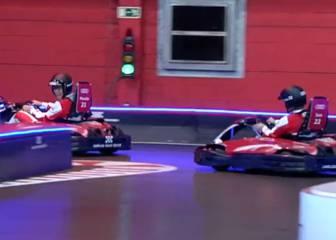 El pique entre Isco y Morata en los Karts: ¿Quién fue mejor?