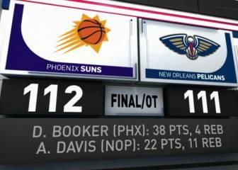 Resumen de New Orleans Pelicans - Phoenix Suns