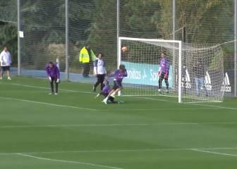 ¡Locura Coentrao!: goles así no se habían visto en Valdebebas