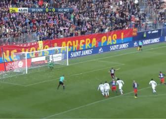 El Caen consigue la primera derrota del Niza