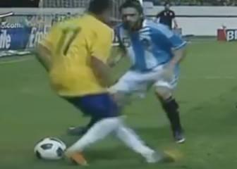 Un destrozo en toda regla: la humillación de Neymar a Gago