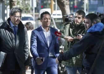 Adriano declaró ante el juez por un delito de fraude fiscal