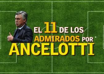 El 11 de los jugadores admirados por Carlo Ancelotti