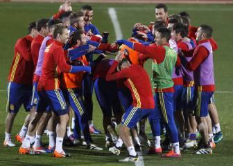 La Selección empieza a entrenarse sin Diego Costa