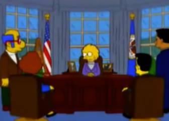 Los Simpson ya presagiaron la presidencia de Trump en 2000
