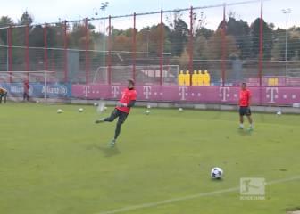 No parece lo que es, un portero: show técnico de Neuer