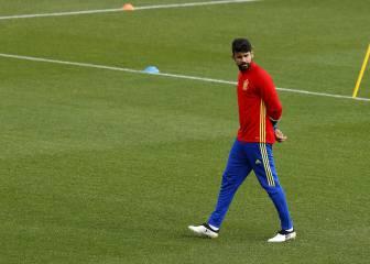 Diego Costa deja la Selección por lesión; Aspas va por él