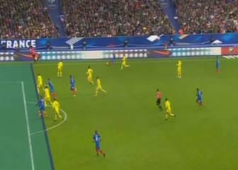 Arde Suecia: doble infracción de Griezmann en el 2-1
