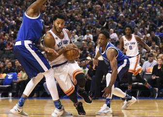 Resumen del New York Knicks - Toronto Raptors de la NBA
