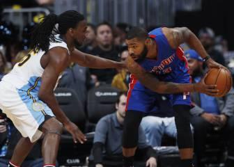 Resumen del Detroit Pistons - Denver Nuggets de la NBA