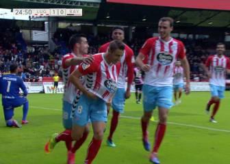 El Rayo pierde ante el Lugo en el debut de Baraja