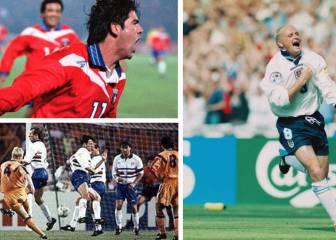 Magia en Wembley: los goles top que encajaron sus redes