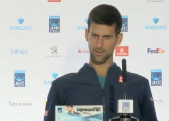 El pique de Djokovic con un periodista por su pelotazo