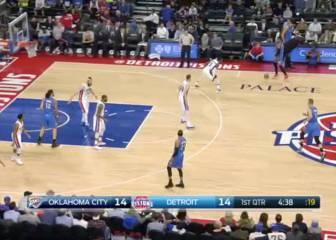 Unos Pistons sin Drummond pueden con Russell Westbrook