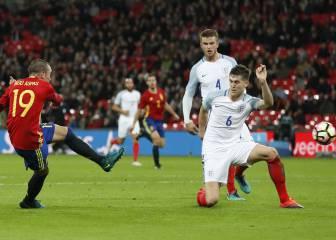 Monumental gol de Iago Aspas: homenaje a Wembley