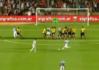 Messi vuelve a bajar del cielo: ¡Golazo ante Colombia!
