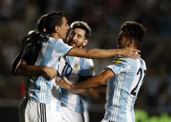 Resumen y goles del Argentina - Colombia de las Eliminatorias