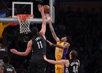 Russell y Randle siguen liderando a los Lakers