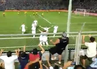 Esto desató en la tribuna el golazo de Messi: una locura
