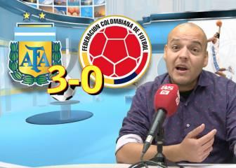 Análisis del Argentina 3-0 Colombia de la Eliminatorias