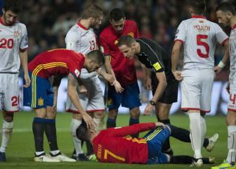 La lesión de Morata que enfada al Madrid y desconocía la FEF
