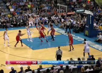 Westbrook acaba con la mala racha de los Thunder