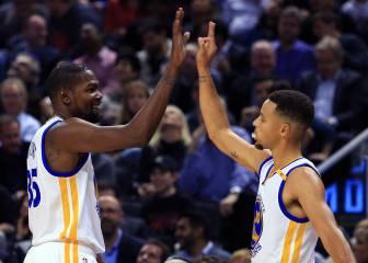 El ataque de las bestias: Curry y Durant son imparables