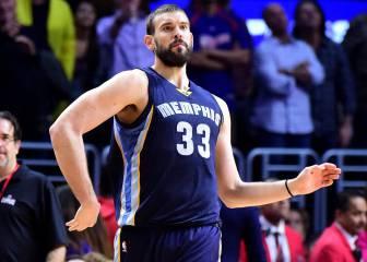 Marc Gasol deslumbra para tumbar al mejor equipo NBA