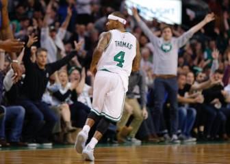 Isaiah Thomas guía a los Celtics en el último cuarto