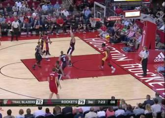 Harden no falla esta vez y los Rockets adelanta a su rival