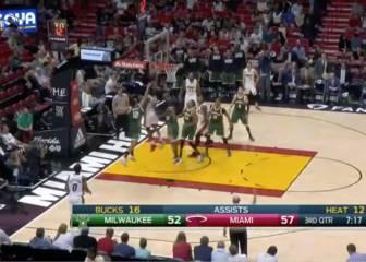 Whiteside lidera el final de la racha de Miami Heat
