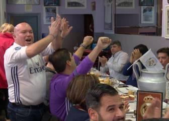 La porra de los peñistas del Real Madrid para el derbi