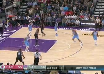Los Clippers ganan primero de paliza y luego con nervios