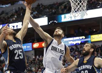 Resumen del Dallas Mavericks-Memphis Grizzlies de la NBA