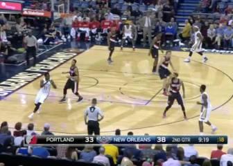 Los Pelicans ahondan en la mini crisis de los Blazers