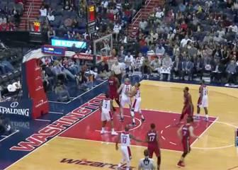 Resumen del Washington Wizards-Miami Heat de la NBA