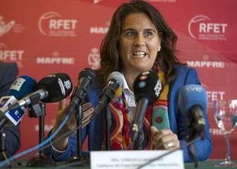 Conchita seguirá como capitana de la Copa Davis