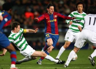 Messi inició su conquista de Europa en Celtic Park en 2008
