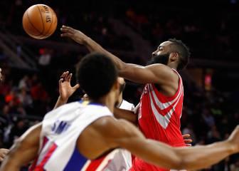 Harden sigue 'on fire' y los Rockets bailan a su ritmo