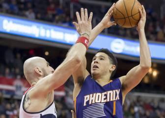 Bradley Beal se aprovecha de la defensa de los Suns